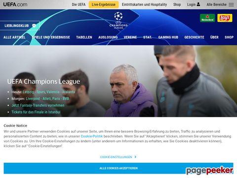 uefa.com - UEFA Champions League