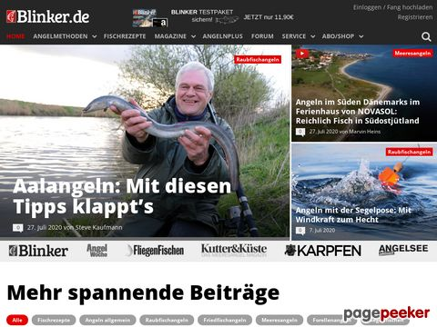 Blinker - Europas größte Anglerzeitschrift