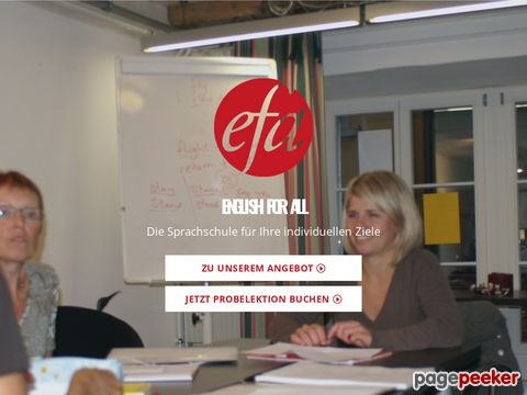 English for All, in Baden and Fislisbach