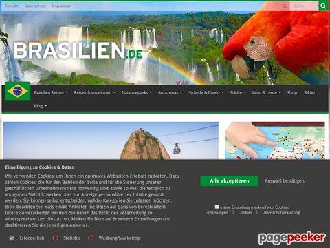 Brasilien in XXL - Informationen und Reisen