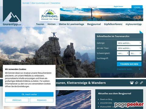 tourentipp.de - Routen aus Deutschland, Österreich, Italien, Schweiz mit vielen Bildern