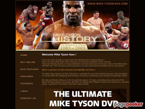 mike-tyson.info - Mike Tyson