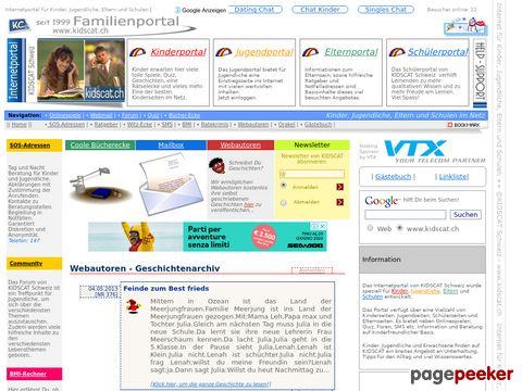 Kinder, Jugendliche, Eltern, Schulen - KIDSCAT Internetportal