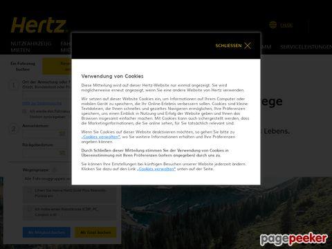 hertz.ch - Hertz Autovermietung - Schweiz / Weltweit