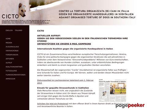 CICTO - Gegen Hundequälerei