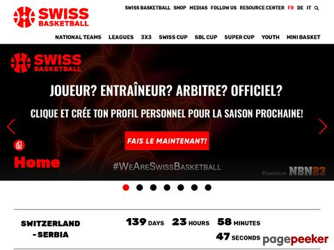Swiss Basketball - Offizielle Website des Schweizerischen Basketballverbandes