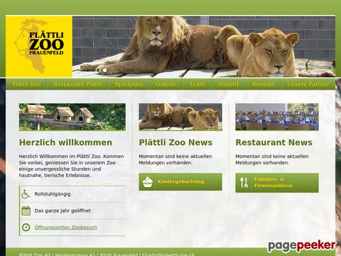 Plaettli Zoo - Frauenfeld (TG)