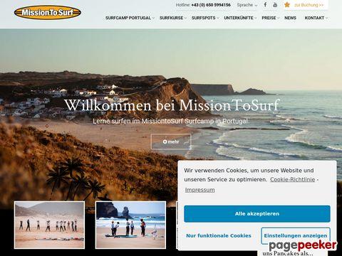 Surfcamp MissionToSurf – Portugal, Spanien