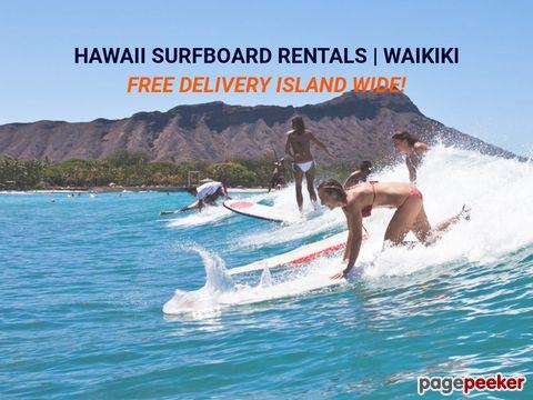 hawaiisurfboardrentals.com - Hawaii Surfboard Rentals