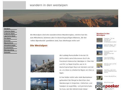 westalpen.eu - Wandern in den Westalpen