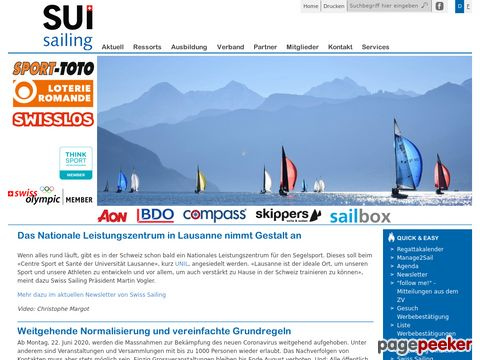 swiss-sailing.ch - Swiss Sailing