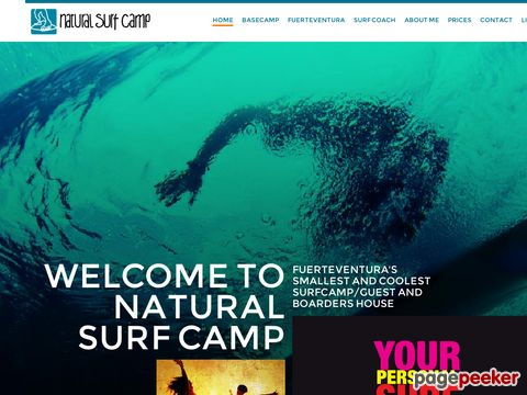 Surf the waves with Natural Surf Camp