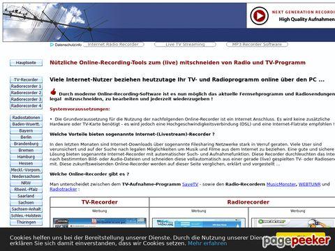 Liste deutscher Onlineradio-Stationen