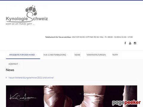 Kynologie Shop Schweiz - alles für den Hund...