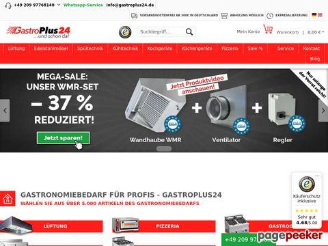 GastroPlus24 - der Gastrodiscounter für die Schweiz
