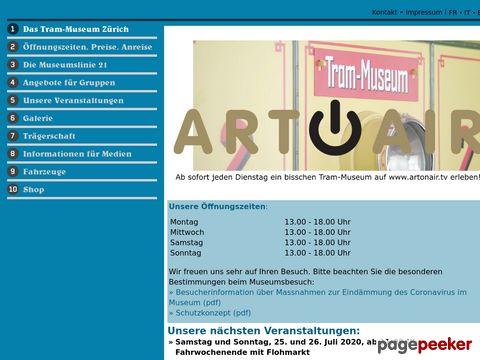 Tram-Museum Zürich: Steigen Sie ein!