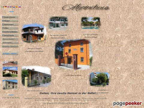 Immobilien in Italien zum Verkauf