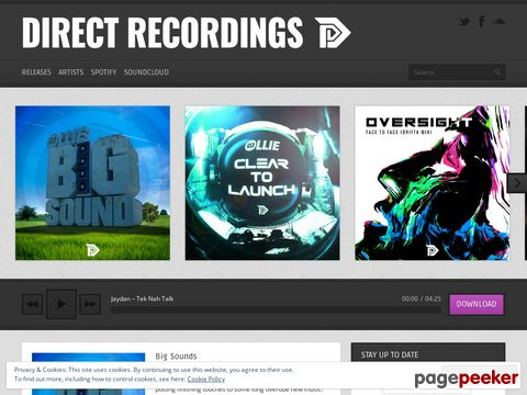 direct-recordings.com - Official Site Of Direct Recordings - UK D&B Record Label