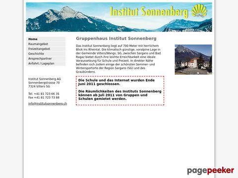 Privatschule Institut Sonnenberg (Kanton St. Gallen)
