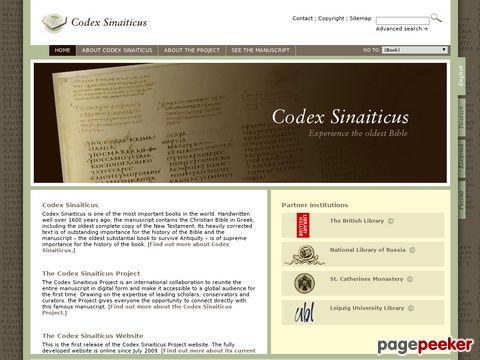 Codex Sinaiticus - die älteste noch existierende Bibel mit vollständigem Neuem Testament