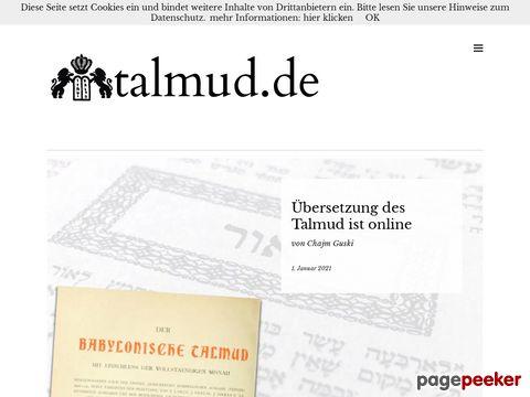 talmud.de Das Judentum