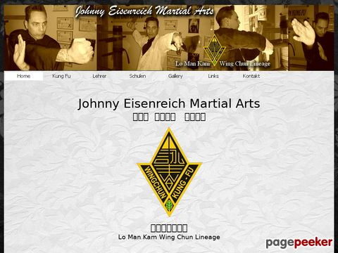 Wing Chun Kung Fu by Johnny Eisenreich