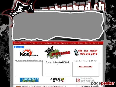 unhooked.ch - Spotguide Schweiz- Kitespots Schweiz - Tripreports & Videos