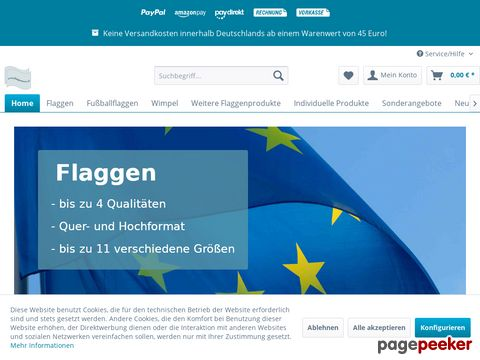 flaggenmeer - flaggen fahnen flaggef ahne