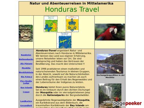 Honduras Reisen und Tours