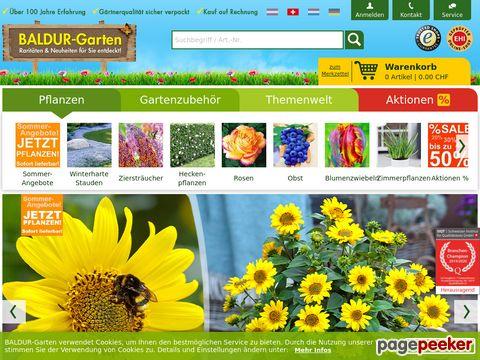 BALDUR-Garten - Pflanzenversand & Gartenversand