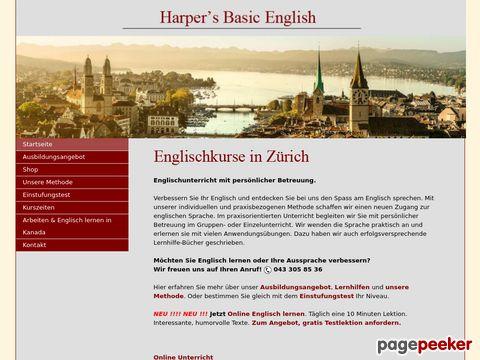 harpers.ch - englisch schule zürich