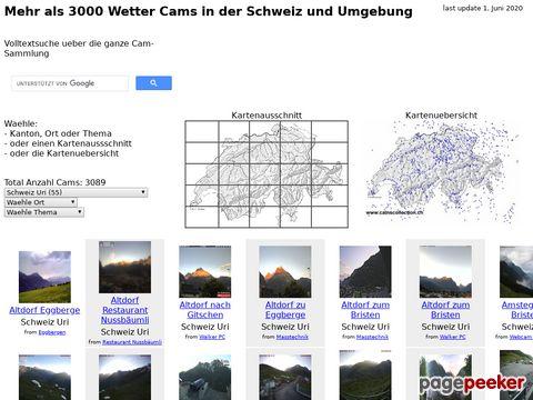 camscollection.ch - Verzeichnis von Webcams