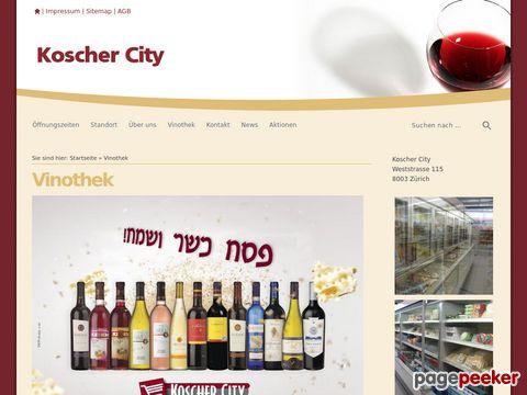 koscher-city.ch - Koscher City - Koscher-Wein