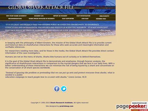 sharkattackfile.net - Global Shark Attack File