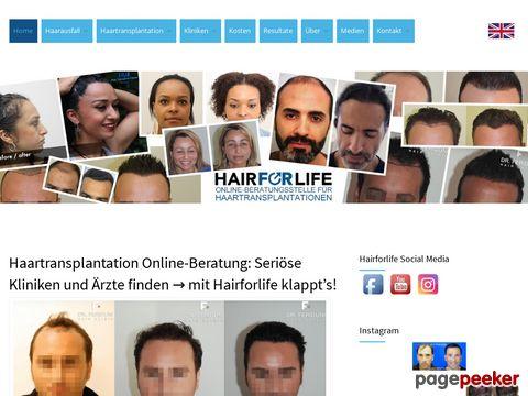 eigenhaarverpflanzung.ch - Alopezie Infos