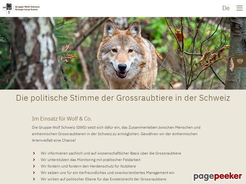 Gruppe Wolf Schweiz (GWS)