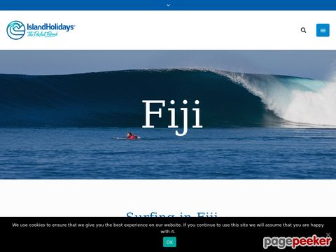 Fiji Surfing Resort and Fiji Surf Camp - Nagigia Island