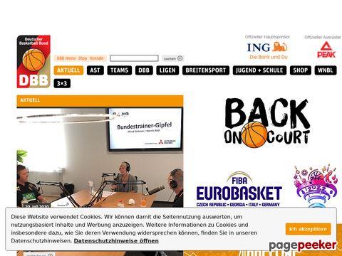 Der Deutsche Basketball Bund
