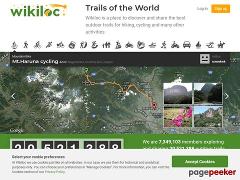 Wikiloc - GPS trails and waypoints of the World
