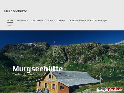 Murgsee.ch - Fischen am Murgsee (Unterterzen, St. Gallen)