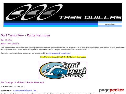 Surf Camp Perú - Punta Hermosa