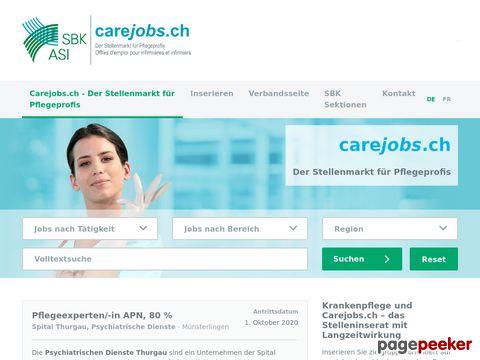 Krankenpflege-Stellenmarkt der Schweiz