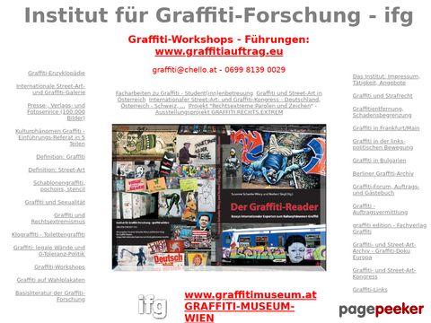 graffitieuropa.org - Graffiti - Forschung - Europa