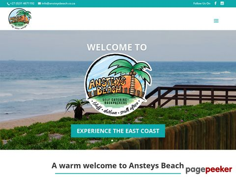 Ansteys Beach Backpackers & Self-Catering (Durban)