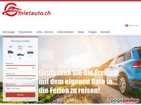 mietauto.ch - Mietauto AG - Mietauto AG Autovermietung Schweiz