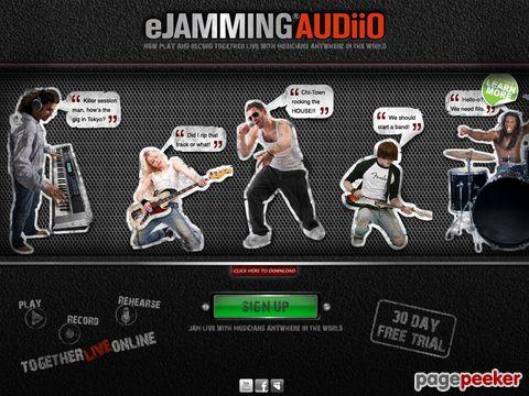 eJamming AUDiiO  | Gemeinsam live über das Internet musizieren