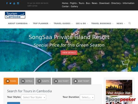 Official site - Tourism of Cambodia