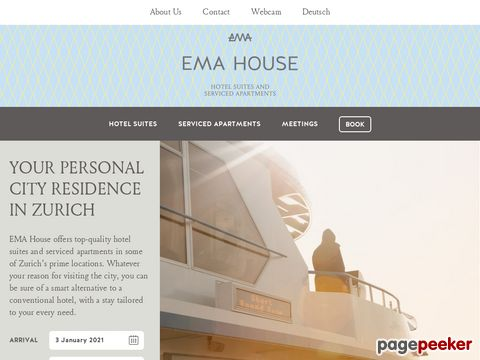 EMA HOUSE, THE ZURICH ALL SUITE HOTEL **** (ZH Kreis 6)
