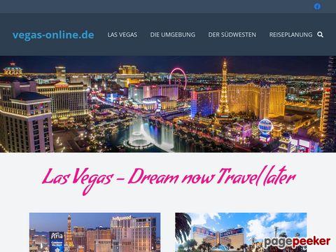 Las Vegas Reiseführer - Hotels, Shows, alles über Las Vegas