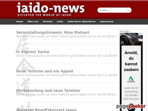 iaido-news.de - Online Magazin rund um Iaido, Budo und Japan.